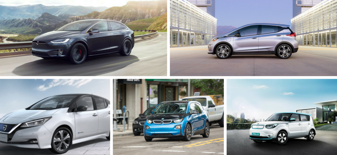 Our List of Top Electric Vehicles of 2018