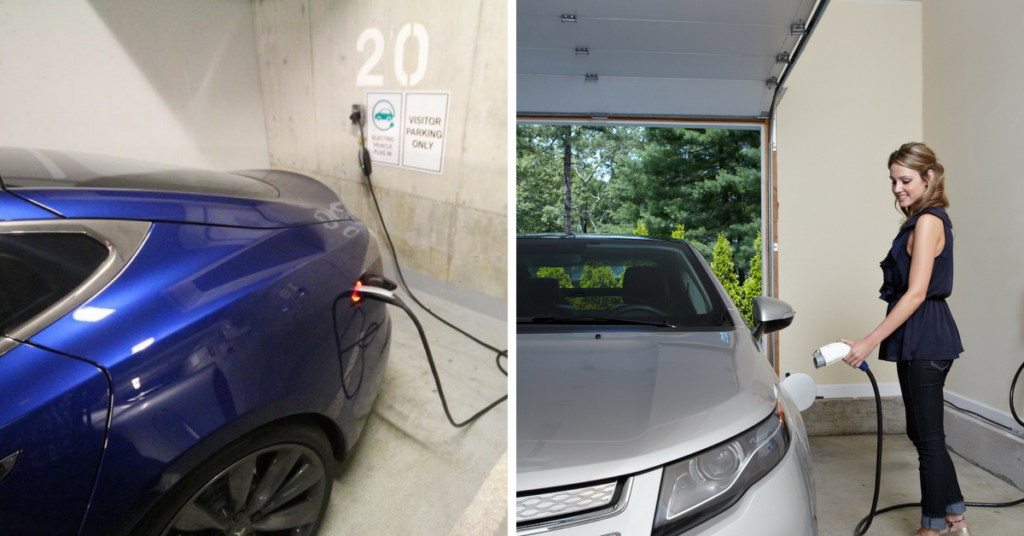 3 Ways to Charge your Electric Vehicle
