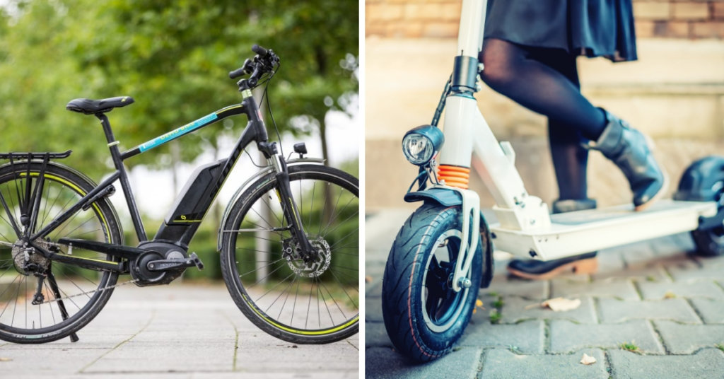 Types of Electric Personal Transportation Devices